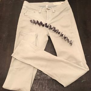 Rag&Bone mint color leggings size 27 GUC